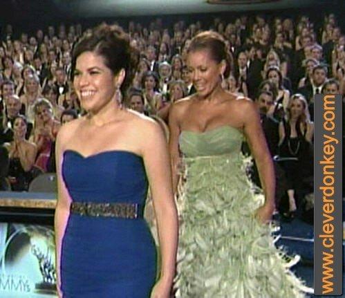 America Ferrera and Vanessa Williams