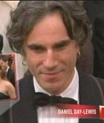 Daniel Day Lewis, dude what up with the earrings?!