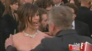 The Grab, The Surprise -- Gary Busey Molests Jennifer Garner