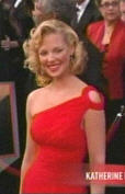 Katherine Heigl in one-armed red loveliness
