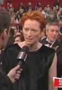 Tilda Swinton channels David Bowie