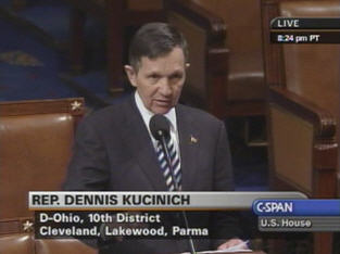 Kucinich Impeaches Bush