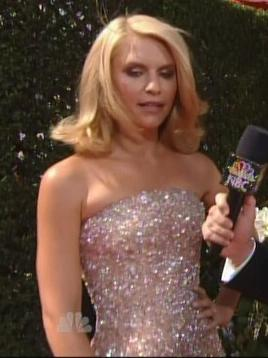 Claire Danes in Armani Privé at the 2010 Emmys