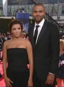 Eva Longoria and Tony Parker Emmys 2010