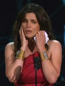 Julia Ormond Wonder Woman Bracelets Emmys 2010