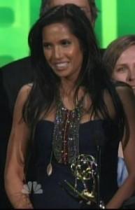 Padma Lakshmi Necklace Emmys 2010