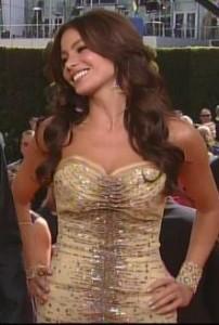 Sofia Vergara Emmys 2010 Carolina Herrera
